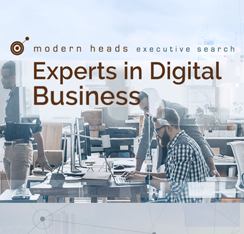 modern heads executive search - Experts in Digital Business
